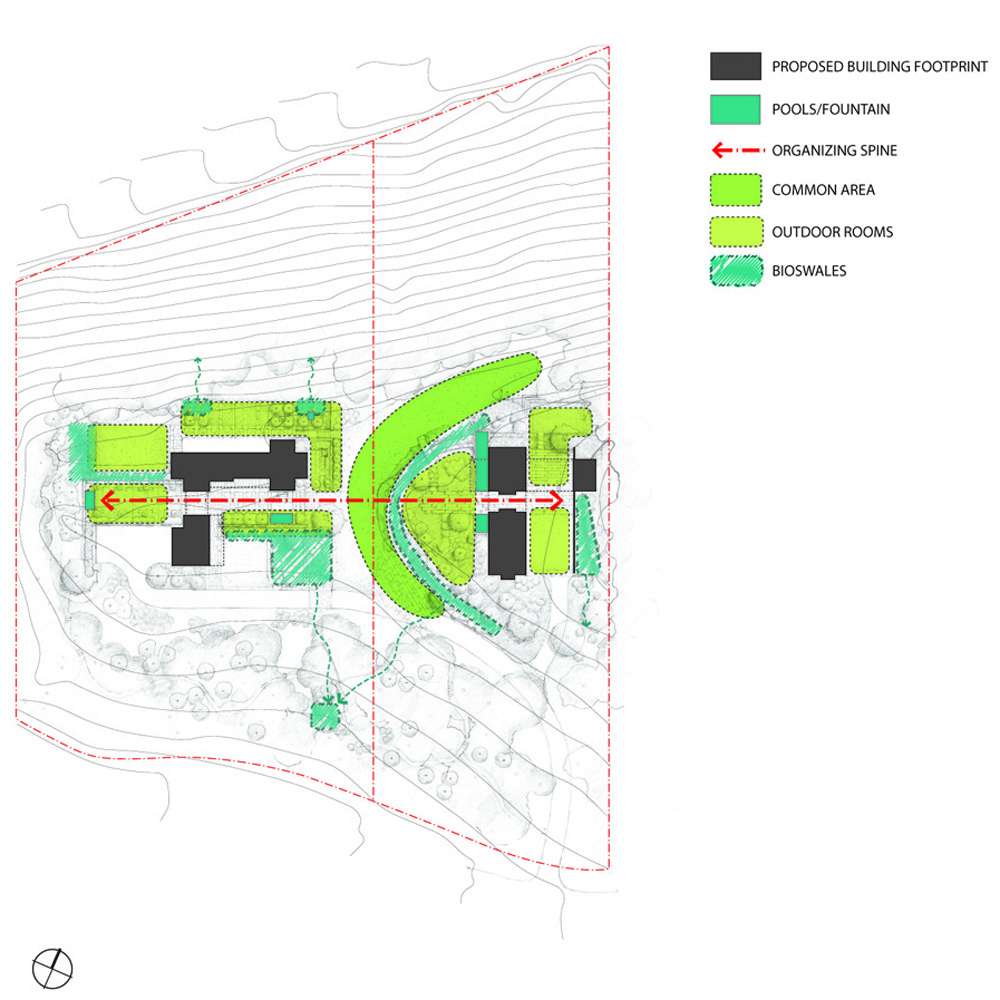 Residential competition design initiative for Residential site plan
